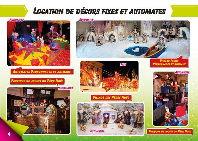 Location de décors de Noël