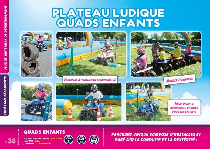 circuit quads enfants