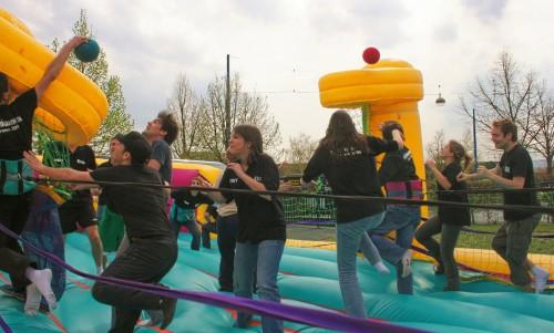 Journée d'intégration réussie, BDE étudiants