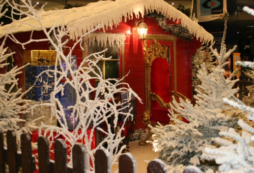 Enneigement artificiel pour décors de Noël