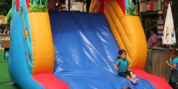 slide gonflable
