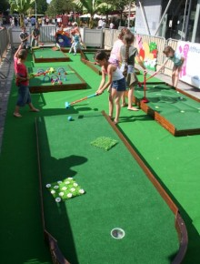 golf enfants itinerant