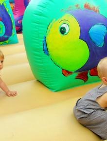 jeu gonflable enfants water play